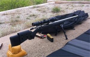 My Tikka T3 and scope setup